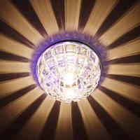 Декоративный светодиодный светильник Feron JD87 G9 + RGB подсветка