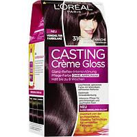 Casting Creme Gloss Coloration Dunkle Kirsche 316- Крем-краска для волос Тёмная вишня 316