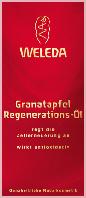 Weleda Körperöl Granatapfel Regenerations-Öl - Гранатовое восстанавливающее масло для тела, 100 мл