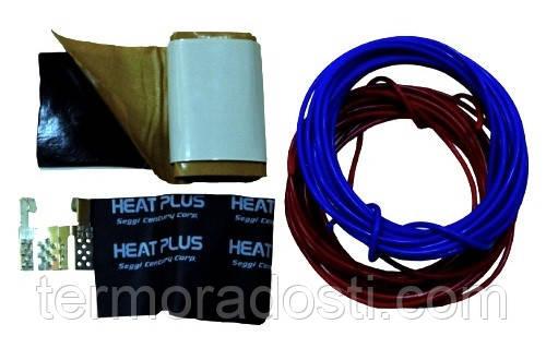 Комплект подключения пленки (провод 2х5 м. + 2 коннектора + 20см. бутил. ленты)