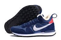 Кроссовки Nike Internationalist Mid Winter Blue (Мех)