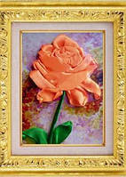 Набор для вишивки лентами Роза