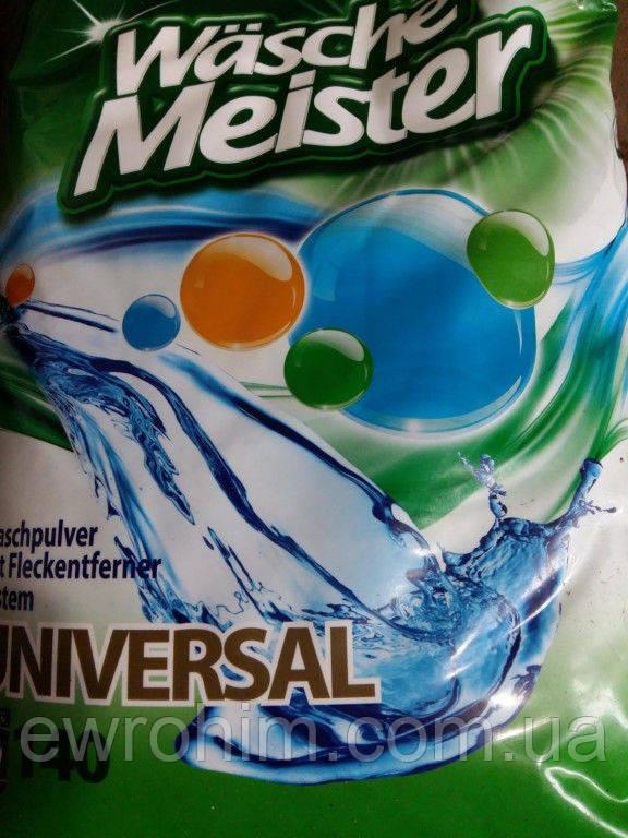 Универсальный стиральный порошок Wasche Meister 10.5 кг, 140 стирок
