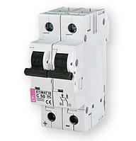 Автоматический выключатель DC ETI ETIMAT 10 DC 2p C 50A (2138721)
