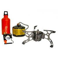 Горелка мультитопливная (газ, бензин, дизель) со шлангом и подогревом Tramp TRG-013