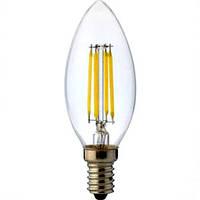 """Лампа светодиодная """"FILAMENT-4"""" Турция 4W  E14 (4200K)"""
