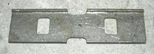 Пластина трения с буртиком 230.00.005 или Р117.00.003, фото 2