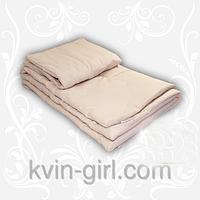 Комплект шерсть (одеяло+подушка) 110х140 цв. Бежевый