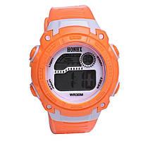Часы детские наручные с подсветкой Sportwatch, orange