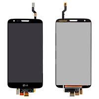 Дисплей (экран) для LG G2 D802 / G2 D805 с сенсором (тачскрином) черный