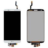 Дисплей (экран) для LG G2 D802 / G2 D805 с сенсором (тачскрином) белый