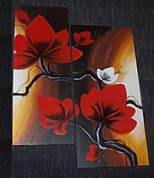 """Алмазная мозаика """"Японские мотивы"""", картина стразами, 2шт/комплект"""