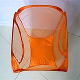 Корзина складная для белья/ игрушек прямоугольная сетка,, фото 6