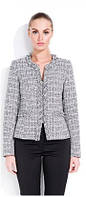 Пиджак женский теплый, деловой с добавлением шерсти Zaps Karen