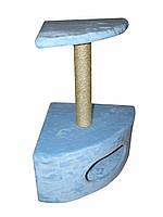 """Когтеточка- дряпка """"Домик угловой малый"""" Высота 67 см."""