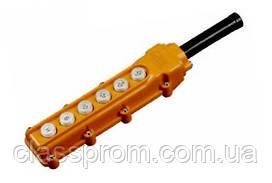 Пульт управления ПКТ-63 на 6 кнопки IP 54 IEK