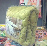 Одеяло двуспальное Евро размер,микрофибра/холлофайбер(180*210см)