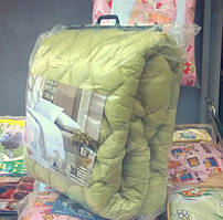 Односпальное одеяло микрофибра,холлофайбер(150*210см)