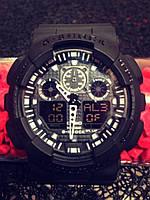 Casio G-Shock GA 100 черные black