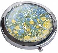 Модное зеркальце Україна Квітуча Девайс Мейкер 22-08-191 серебристый