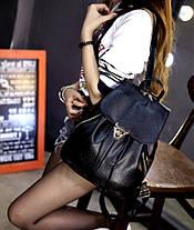 Модный городской рюкзак с боковой молнией, фото 2