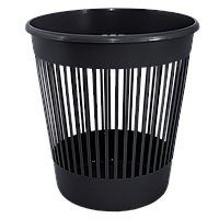 Корзина для мусора черная 12 л
