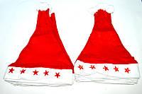 Колпак Санта Клауса  светящаяся флис