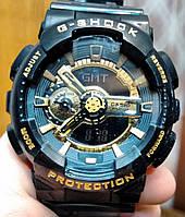 Casio G-Shock GA 110 черный с золотом black gold