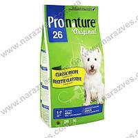 Сухой корм Pronature Original Взрослый для средних и малых пород на развес