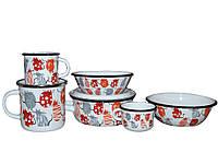 EPOS Набор детской эмалированной посуды - набор 163 Cat