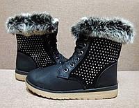 Сапоги зимние женские, ботинки на тёплом меху