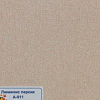 Рулонні штори Одеса Тканина Люмінис Персик А-911