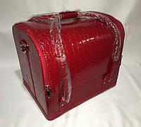 Кейс для косметики бьют кейс красный, фото 1