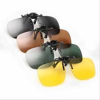 Накладки клипоны с креплением на очки для водителей антиблик