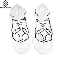 Носки с котом