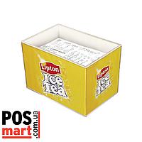 Коробка для чеков рекламная (в наличии на складе в Киеве).