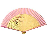 Веер бамбук расписной