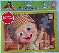 "Пазлы Мягкие ""Маша и Медведь""  VT1102-07 Vladi Toys Украина"