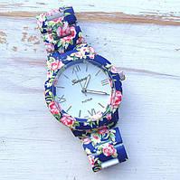 Женские часы Geneva Flowers, фото 1