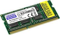 Память Goodram SODIMM DDR3-1600 4096MB PC3-12800 (GR1600S3V64L11/4G)