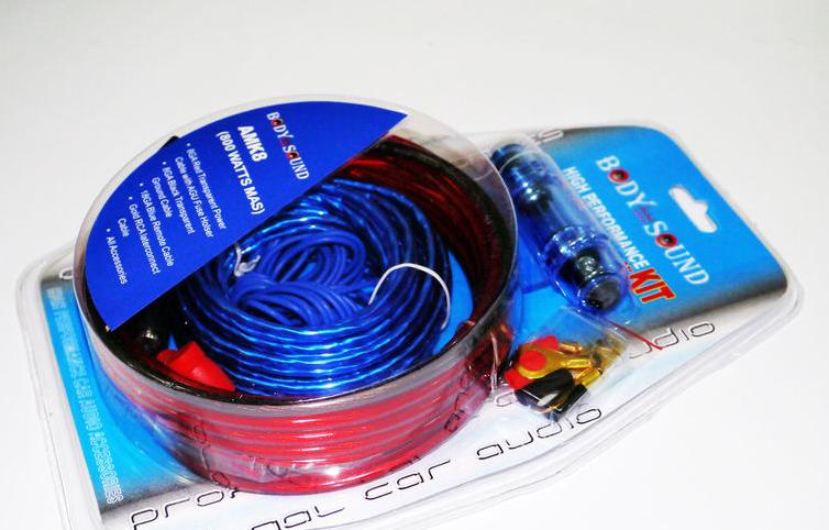 Комплект проводов для сабвуфера 800W