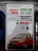 Полусинтетическое моторное масло Хадо Xado Energy Drive Revitalizant 10w40 SL/CF (4 литра)