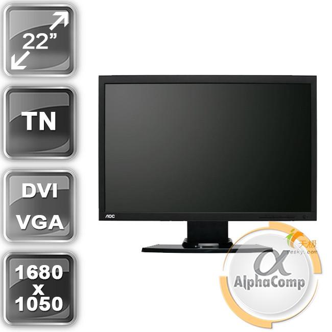 """Монитор 22"""" AOC 210S (VGA) class A БУ"""