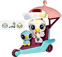 Игровой набор Hasbro Littlest Pet Shop Городской транспорт Дельтаплан B3807_B5040