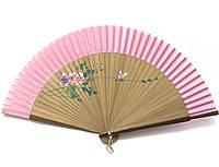 Бамбуковый веер с узором