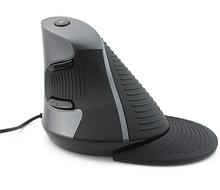 Оригінальна Вертикальна ергономічна дротова, USB миша Delux M618