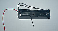 Держатель для аккумулятора, 1x18650, с проводами