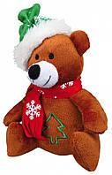 Trixie  TX-92442  плюшевая новогодняя игрушка для собак со звуком 20см