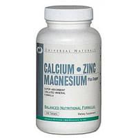 Universal Nutrition Calcium Zinc Magnesium  100caps