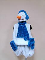 ПРОКАТ карнавальный костюм Снеговик, 3-7 лет